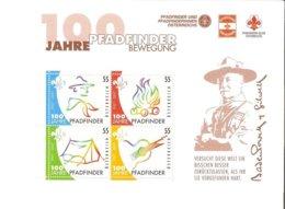 Austria Padfinder BewegungII004 - Blocks & Kleinbögen