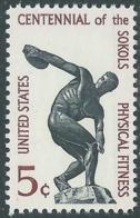 1965 USA PHYSICAL FITNESS SOKOL MNH ** - RB13-2 - Stati Uniti