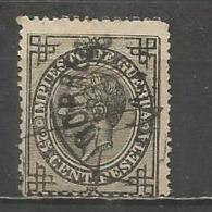 ESPAÑA EDIFIL NUM. 185 USADO - Usados
