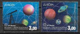 Bosnie Herzégovine 2009 N° 229/230 Neufs Europa Astronomie - Europa-CEPT