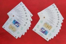 Turkish Cyprus 2006; 20 Sheets; Perf. + Imperf. Europa CEPT; MNH, Neuf**, Postfrisch; CV €140 !! - Cyprus (Turkey)