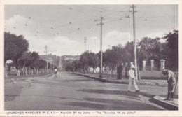 ALTE AK   LOURENCO  MARQUES - Maputo /  Mosamb.  - Avenida 24 De Julho -  1925 Ca. - Mozambique