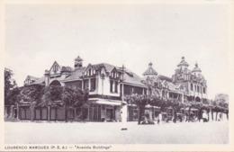 ALTE AK   LOURENCO  MARQUES - Maputo /  Mosamb.  - Avenida Buildings -  1925 Ca. - Mozambique