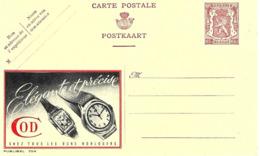 """"""" COD """" Horlogerie, Montre, Watch, Publicite Sur Entier Postal Illustre De Belgique, Publibel - Horloges"""