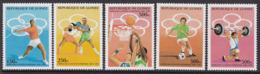 SERIE NEUVE DE GUINEE - JEUX OLYMPIQUES D'ATLANTA N° Y&T 1051A à 1051E - Summer 1996: Atlanta