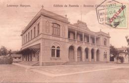 ALTE AK   LOURENCO  MARQUES - Maputo /  Mosamb.  - Revenue Office -  1913 Gelaufen - Mozambique