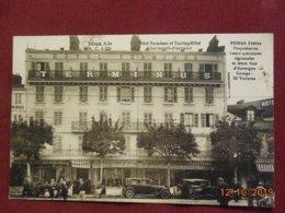 CPA - Clermont-Ferrand - Hôtel Terminus Et Touring-Hôtel - Poinas Frères, Propriétaires - Clermont Ferrand