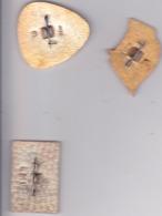 OLD PIN  --  LOT3  --  3 X PINS RUSSIA  --  MUZEI, MUSEUM - Sin Clasificación