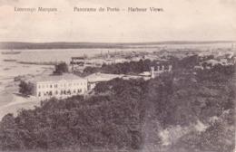 ALTE AK   LOURENCO  MARQUES - Maputo /  Mosamb.  - Harbour Views -  1913 Gelaufen - Mozambique
