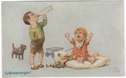 SELBSTVERSORGER 1910 - Arthur Thiele - Serie Nr. 177 - Thiele, Arthur