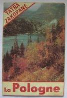 Poland Pologne Tatra Mountains Montagnes Zakopane Tourist Brochure Depliant Touristique 70's - Reiseprospekte