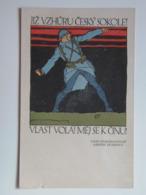 5414 Prima Guerra WWI Pubblicita Military Czech Legion 1917 Vojtech Preissig PAMATNIK ODBOJE USA Ad Advertisement War - Guerra 1914-18