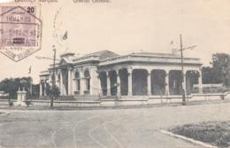 ALTE AK   LOURENCO  MARQUES - Maputo /  Mosamb.  - Quartier General -  1912 Gelaufen - Mozambique