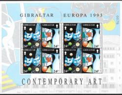 1993 Gibraltar  Mi. 854-7 Used   Europa: Zeitgenössische Kunst. - Europa-CEPT