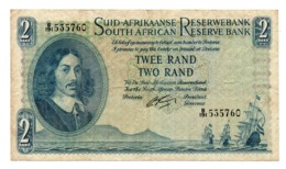 SOUTH AFRICA»1962»2 RAND (ND ISSUE)»P-104 (WORLD PAPER MONEY)»VF CONDITION - Sudafrica