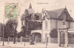 ALTE AK   LOURENCO  MARQUES - Maputo /  Mosamb.  - Secretaria Geral -  1912 Gelaufen - Mozambique