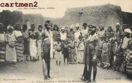 ABIDJAN DANSE DE KOUROUBY CLICHE G. KANTE SCENE TYPE ETHNOLOGIE ETHNIE COTE D'IVOIRE AFRIQUE - Ivory Coast