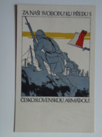 5422 Prima Guerra WWI Pubblicita Military Czech Legion 1917 Vojtech Preissig PAMATNIK ODBOJE USA Ad Advertisement War - Guerra 1914-18