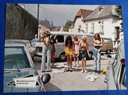 "Erotik-Kino-Film ""Muschimaus Mag's Grad Heraus"" (nude - Women - Nackt) # Original Altes Kinoaushangfoto # [19-3247] - Fotos"