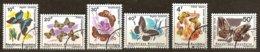 Rwanda Ruanda 1965 OCBn° 112-17 (°) Used Cote 4,25 Euro Faune Papillons Vlinders - 1962-69: Used