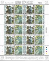 1993 Isle Of Man   Mi. 546-9 Used Europa: Zeitgenössische Kunst. - Europa-CEPT
