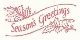 F021 EMA FREISTEMPEL METER Joyeux Noel Season Greetings Christmas CANADA Kingston 1974 - Noël