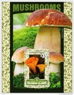 16.- SOLOMON ISLANDS. 2016 MUSHROOMS CHAMPIGNONS SETAS FUNGI - Mushrooms