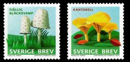 19.- SWEDEN SUEDE 2015 Mushrooms - Mushrooms