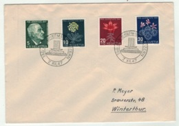 Suisse//Schweiz//Svizerra // Switzerland // Pro-Juventute // 1947 // Lettre Pour Winterthur, Journée Du Timbre 1947 - Pro Juventute
