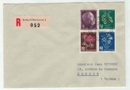 Suisse//Schweiz//Svizerra // Switzerland // Pro-Juventute // 1948 // Lettre Recommandée Pour Genève, J.Timbre 1948 - Pro Juventute