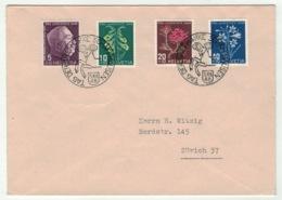 Suisse//Schweiz//Svizerra // Switzerland // Pro-Juventute // 1948 // Lettre Pour Zurich, J.Timbre 1948 - Lettres & Documents