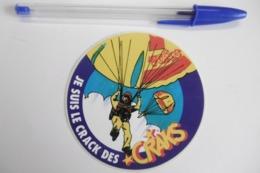 """Autocollant Stickers - Parachutiste """"Je Suis Le Crack Des CRAKS"""" - Autocollants"""