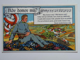5434 Prima Guerra WWI Pubblicita Military Czech Legion 1914 Schulz Praha Ad Advertisement War Map 12728 - 49 Litho - Guerra 1914-18