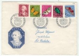 Suisse//Schweiz//Svizerra // Switzerland // Pro-Juventute // 1957 // Lettre Pour Les Cerlatez , J.Timbre 1957 - Pro Juventute