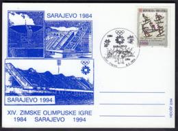 Croatia Zagreb 1994 / Olympic Games Sarajevo / 10 Years - Winter 1984: Sarajevo