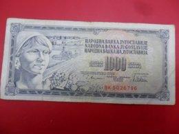 Yugoslavia-Jugoslavija 1000 Dinara 1978, P-92a - - - 100490 - - - - Jugoslavia