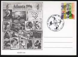 Croatia Zagreb 1996 / Olympic Games Atlanta / Basketball, Tennis, Handball, Water-polo - Summer 1996: Atlanta