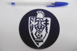 Autocollant Stickers - ARMÉE / Emblème : 2° Régiment Du Génie - Stickers