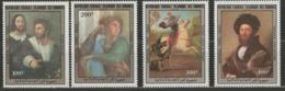 Comores YT 404-407 XX / MNH Art Peinture Raphael Renaissance - Comoros