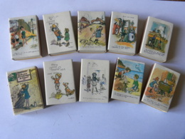 Boites D'allumettes - Série Complète POULBOT - Année De L'enfance - Matchboxes