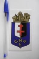 Autocollant Stickers - ARMÉE / Embème GMR 6  De MONTIFNY-LES-METZ - Stickers