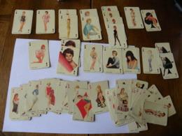 SAM LEVIN - 49 Cartes à Jouer - Brigitte Bardot , Dany Saval, Elga Andersen, Estella Blain, Yvonne Monlaur... - Playing Cards (classic)