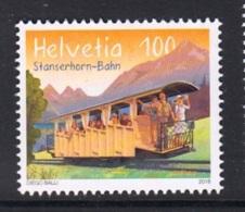 7.- SWITZERLAND 2018 125 Years Stanserhorn Railway - Tramways