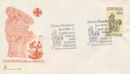 Italia Italy 1979 FDC CAPITOLIUM Week Of Digestive Diseases Settimana Delle Malattie Digestive - Malattie