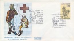 Italia Italy 1979 FDC ROMA Week Of Digestive Diseases Settimana Delle Malattie Digestive - Malattie