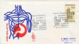 Italia Italy 1979 FDC VENETIA Posted Week Of Digestive Diseases Settimana Delle Malattie Digestive - Malattie
