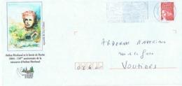 Arthur Rimbaud Et Le Lavoir De Roche - 2004 : 150ème Anniveraire De La Naissance - Prêts-à-poster:Overprinting/Luquet