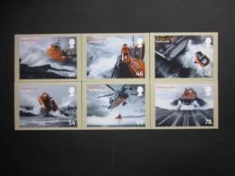 2008 RESCUE AT SEA STAMPS P.H.Q. CARDS UNUSED, ISSUE No. 309 - 1952-.... (Elizabeth II)