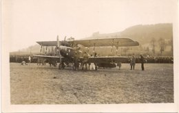 Aviation - Fête D'aviation - Bulle - 1925 - Rare - Aeródromos