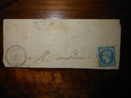 Fragment Lettre GC 1057 Clion Indre - Marcophilie (Lettres)